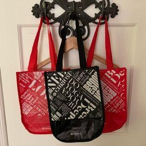 Lululemon shopping bags 3